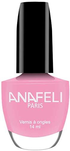 Anafeli Paris No M02 - Smalto per unghie, colore: rosa tenero opaco