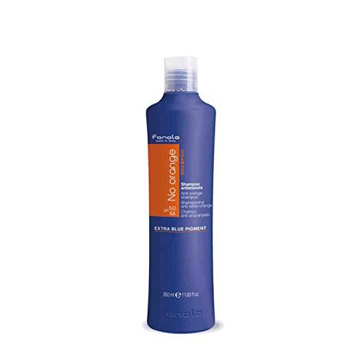 Fanola No Orange - Shampoo Antiriflesso Arancione, 350ml