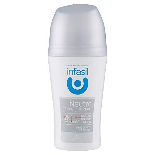 Infasil Deodorate Rollon Neutro Tripla Protezione, 50ml