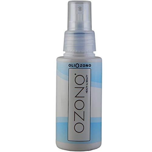 OZONO H&B Lozione Ad Alto Contenuto di Olio Di Oliva Ozonizzato - Olio Corpo Rigenerante Professionale - Olio di Mandorle e Avocado - Antibatterico Bio-Stimolante - Made In Italy (75ml)