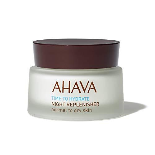 Ahava Time To Hydrate Night Replenisher Crema Rimpolpante Viso, 50 ml