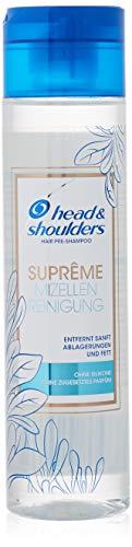 Head & Shoulders Suprême Mizellen - Detergente per capelli, senza silicone, 250 ml