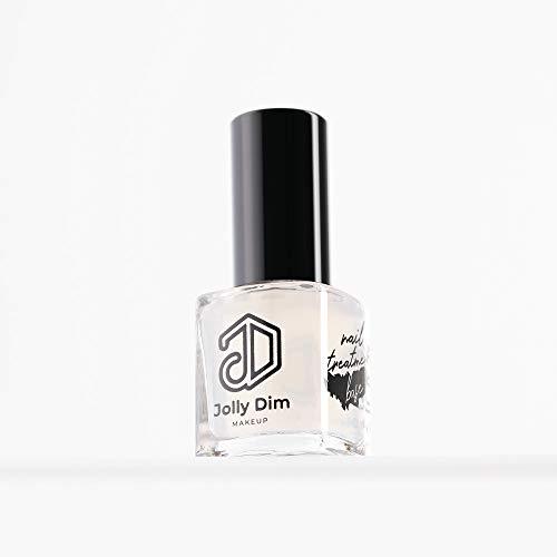 Jolly Dim Makeup Nail Treatment Base, trattamento base per unghie Rinforza le unghie fragili Trattamento base