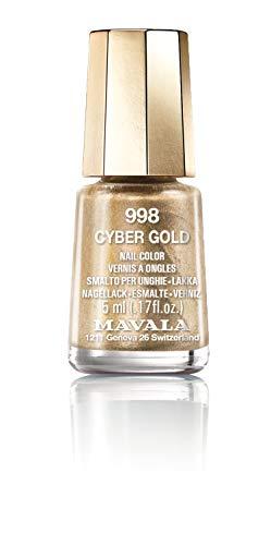 Mavala Nail Polish Cyber Chic Collection Cyber Gold 15ml