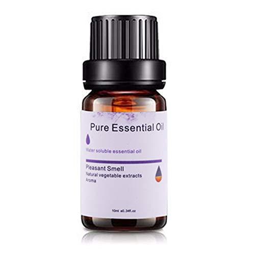 Lepeuxi 10ml Oli Essenziali Naturali Puri Olio per aromaterapia Sano Profumo per Il Corpo per umidificatore con diffusore di Olio