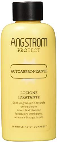 Angstrom Protect Autoabbronzante, Lozione Abbronzante con Azione Idratante Istantanea, Nutriente e Duratura, Indicata per Pelli Chiare, 200 ml