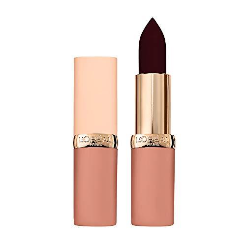 L'Oréal Paris Rossetto Lunga Durata Color Riche Free the Nudes, Non Secca le Labbra, Comfort a Lungo sulle Labbra, 12 No Prejudice, Confezione da 1