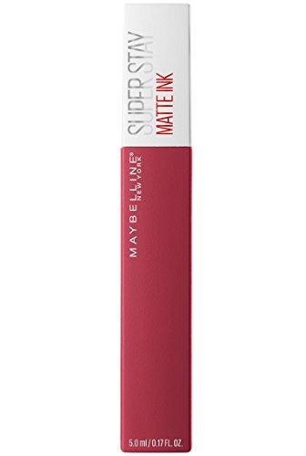 Maybelline New York Superstay Matte Ink Collezione Unnudes Rossetto, Matte, Liquido, Tinta Labbra a Lunga Tenuta, 80 Ruler