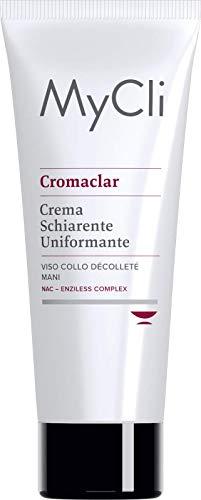 Cromaclar My Cli crema schiarente uniformante viso collo mani 75ml
