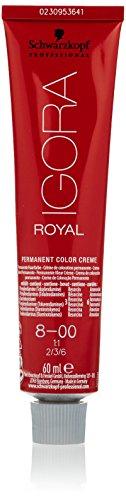 Schwarzkopf crema di colore permanente Igora Royal 8-00