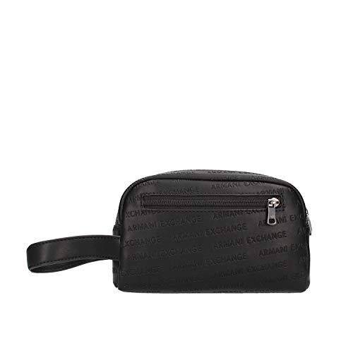 Pochette da polso Beauty Uomo Armani Exchange colore nero - 958099CC34800020