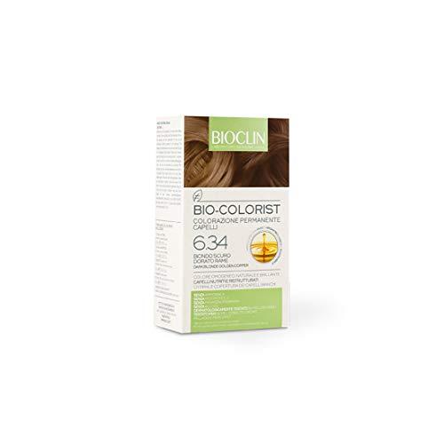 Bioclin Colorazione permanente 6.34 biondo scuro dorato rame