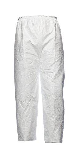DuPont PT31L0 Pantaloni in Tyvek , Bianco, XL, Confezione da 10 piezzi