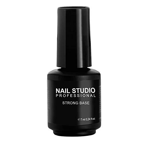 Nail Studio - Base Indurente Unghie Professionale Mani e Piedi - Base Smalto Semipermanente - Prolunga la Durata dello Smalto - Formato da 7ml