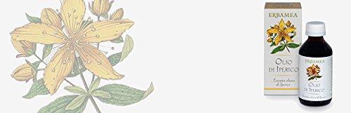 OLIO (OLEOLITO) DI IPERICO 100 ml. Lenitivo per scottature, eritemi
