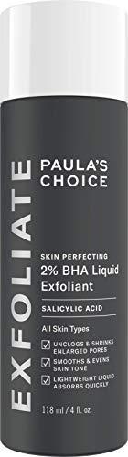 Paula's Choice Skin Perfecting Esfoliante Viso Liquido 2% BHA - Peeling Combatte i Brufoli, i Pori Dilatati e i Punti Neri - con Acido Salicilico - Pelli Miste o Grasse - 118 ml