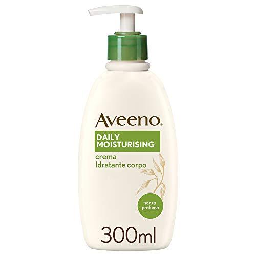 Aveeno Crema Idratante Corpo, Daily Moisturizing per Pelli Sensibili, 300 ml