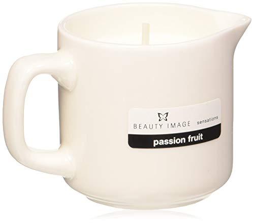 Beauty Image, candela all'aroma di frutto della passione, per massaggi con olio caldo