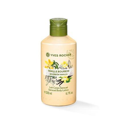 Yves Rocher LES PLAISIRS NATURE - Latte per il corpo alla vaniglia, idratante, 1 flacone da 200 ml