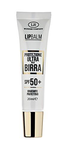 Lip Balm, protezione labbra ULTRA alla Birra, protegge da sole e vento, protezione solare spf 50+ (1x20ml) - Wonder Company