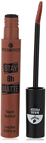 Stay 8H Matte 02 Duck Face ESSENCE Rossetto Liquido Matte Donna 3 ml Applicatore