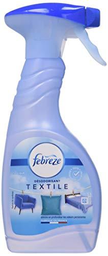 Febreze Textile Deodorante Spray, elimina gli odori intrappolati nei tessuti, profumo classico, 500 ml