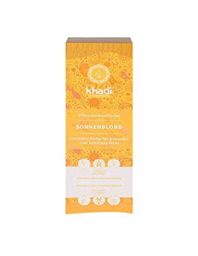 KHADI Tinta vegetale Sunrise BIONDO SOLE 100 gr polvere 100% NATURALE