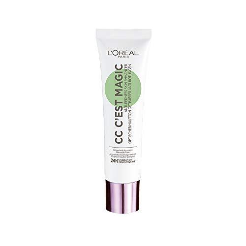 L'Oréal Paris CC Cream C'est Magic Crema Anti-Rossori verde