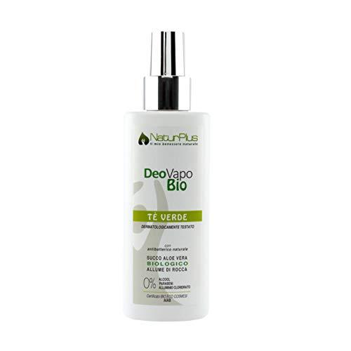 NaturPlus Deodorante Bio Vapo Lux Tè Verde - 100 ml