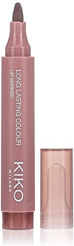 KIKO Milano Long Lasting Colour Lip Marker 109   Pennarello Labbra No-Transfer, Effetto Tattoo Naturale a Lunga Durata (fino a 10 Ore)
