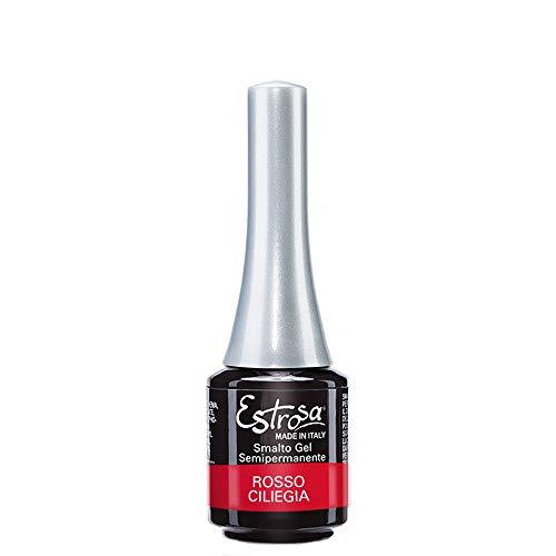 Estrosa Smalto Gel Semipermanente Rosso Ciliegia - 50 gr