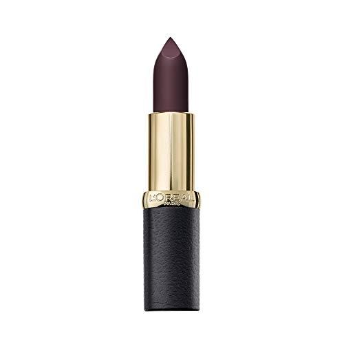 L'Oréal Paris MakeUp Rossetto Color Riche Matte Addiction, Rossetto a Lunga Tenuta, Finish Matte, 473 Obsidian