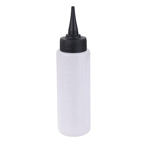 REFURBISHHOUSE Strumento di parrucchiere per la misurazione della scala di bottiglia dell'applicatore di colore dei capelli da 150 ml