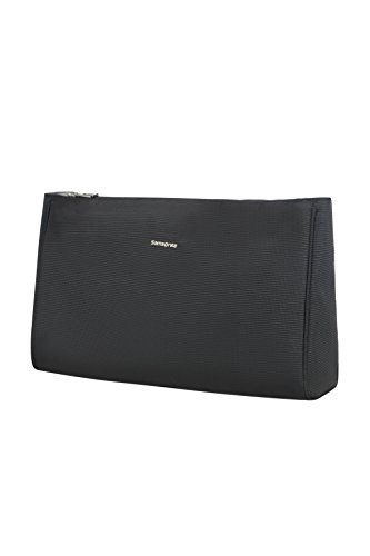 Samsonite Cosmix - Cosmetic Pouch L Beauty Case.33 cm, Nero (Black)