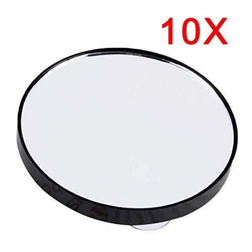 Greatangle Specchio cosmetico da Trucco Specchio ingranditore 5X 10X 15X con Due Ventose Strumenti Cosmetici Mini Specchio Tondo Specchio da Bagno