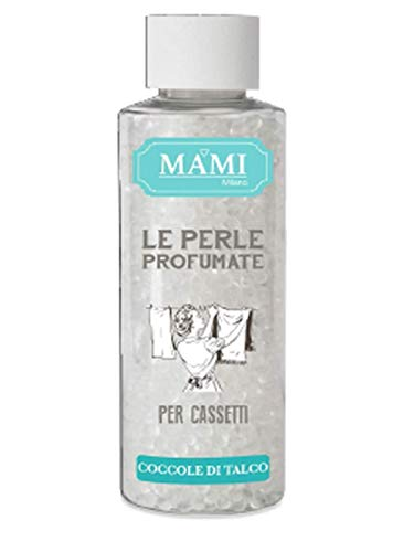 MAMI MILANO - LE Perle PROFUMATE per CASSETTI - Coccole di Talco