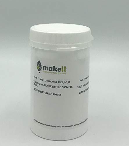 Talco micronizzato E553b (per ombretti, ciprie e fondotinta) - Make it (50 g)