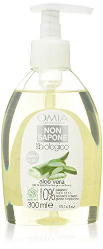 Omia Ecobio Sapone Liquido Aloe, 6 Pezzi - 300 ml