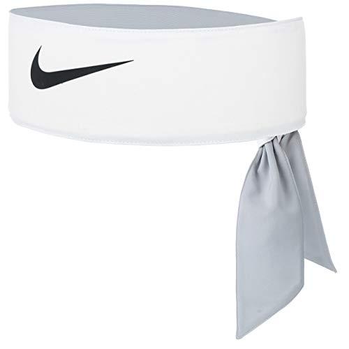 Nike 9320/8 - Fascia da tennis, unisex, taglia unica, colore: Bianco/Nero