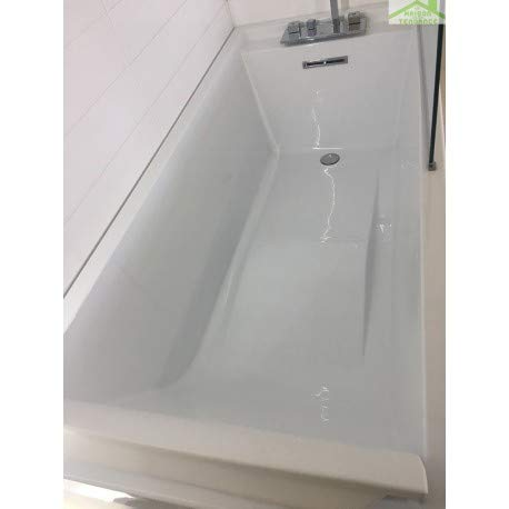 Novellini Elysium Sense 3 - Vasca da bagno con poggiatesta in acrilico, Sans Robinetterie, 170x75 cm