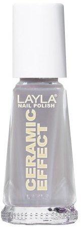 Smalto Layla Ceramic Effect N.16 Grey Power Nail Polish by LAYLA COSMETICS