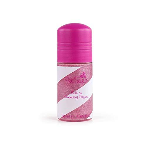 Aquolina Pink Sugar ROLL-ON Shimmering Perfume by Aquolina nel pratico formato da 50ml per profumare ed illuminare la pelle in un unico gesto – 40295163 - 50 ml