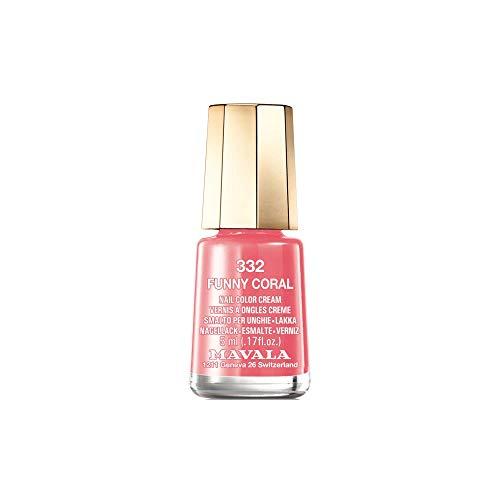 Mavala - Smalto colorato per unghie, 332, colore corallo, 5 ml
