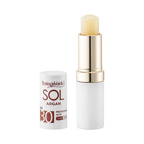 Bottega Verde, SOL Argan - Stick solare labbra - nutre e protegge - con olio di Arga