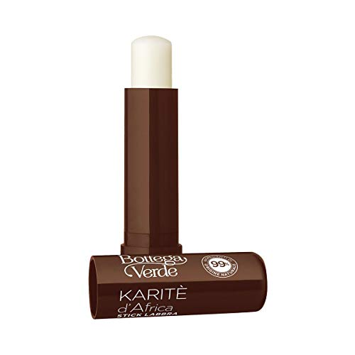 Bottega Verde, Karite - Stick labbra - nutriente protettivo - con burro di Karite (5 ml) - labbra secche o screpolate