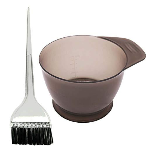 SUPVOX Strumento di capelli colore Kit tintura colorante per capelli parrucchiere tintura con spazzole per tingere e per tintura - 2pz