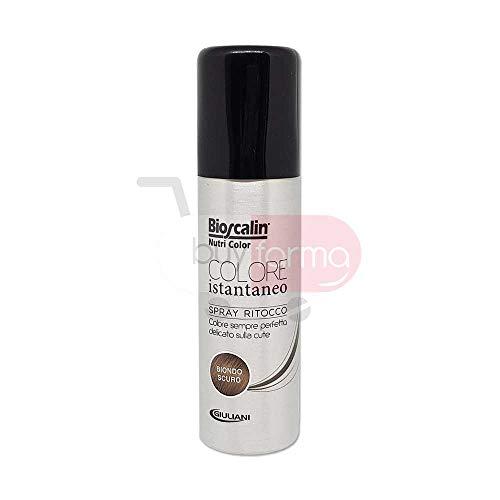 BIOSCALIN NUTRI COLOR - Spray Ritocco Colore Istantaneo da 75ml - BIONDO SCURO