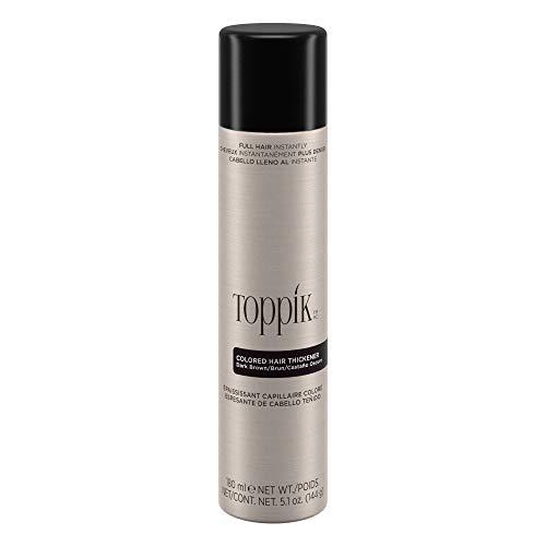 Toppik Spray Colorato Per Capelli (Colore Castano Scuro) - 144 gr.
