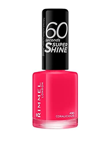 Rimmel London 60 Seconds Super Shine #430-Coralicious - 12 ml