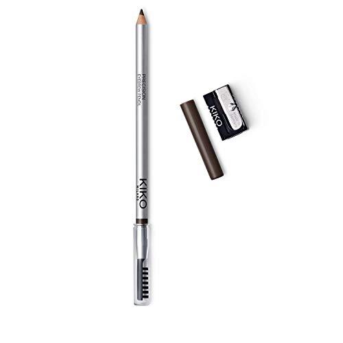 KIKO Milano Precision Eyebrow Pencil 02 | Matita per Sopracciglia con Formula Rigida di Microprecisione e Pettine Separatore